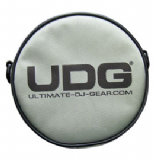 UDG Headphone Bag - Steel Grey / Orange